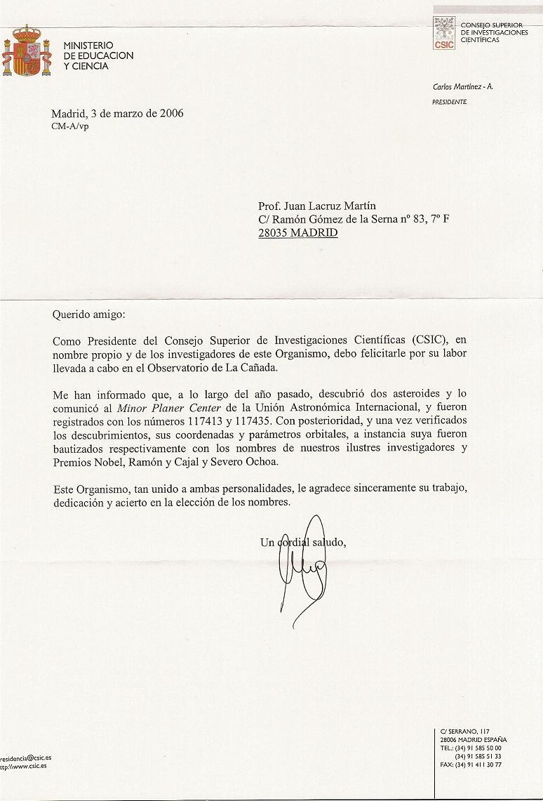 CSIC note